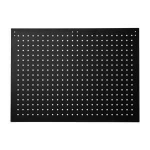 19 in. H x 26 in. W Black Peg Boards (2-Piece per Box with 50 Hooks)