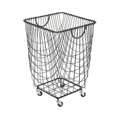 New Traditional Netting-Style Hamper Basket