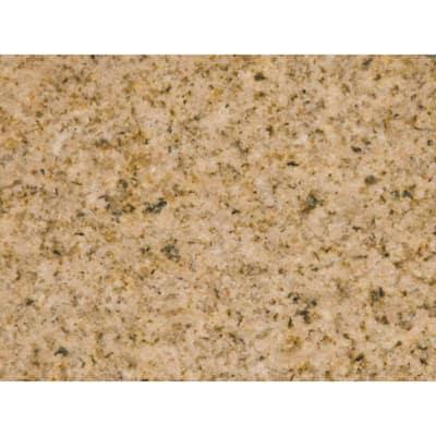 5.67 in. L x 1.97 in. D Granite Countertop Sample in Gold Sand
