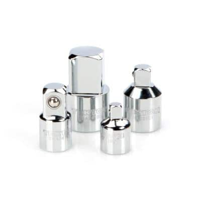 1/4 in., 3/8 in., 1/2 in. Adapter/Reducer Set (4-Piece)