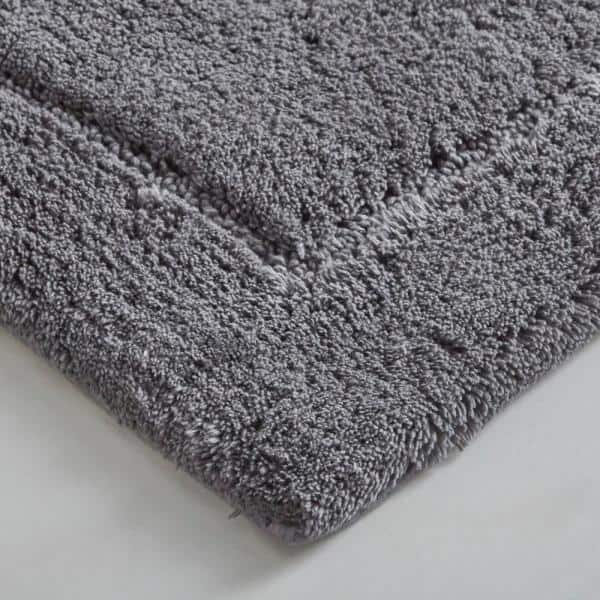 Mohawk Home Regency Pewter 21 In X 60 In Cotton Machine Washable Bath Runner 087389 The Home Depot