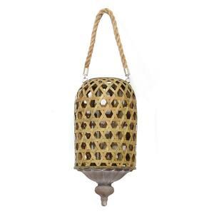 Hanging Bamboo Woven Lantern
