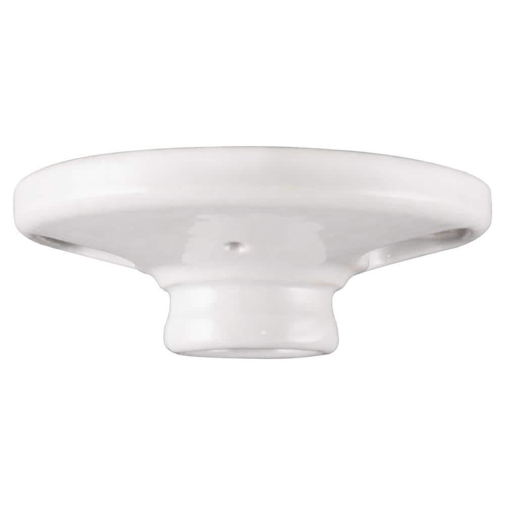 Ge Medium Base Keyless White Porcelain Lampholder 18304 The Home Depot