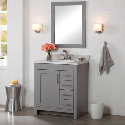 Modern 30 Inch Vanities Bathroom Vanities Bath The Home Depot