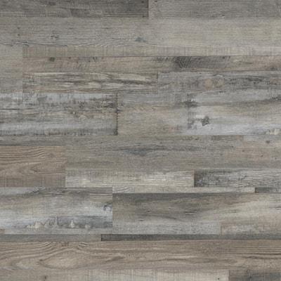 Woodlett Outerbanks Grey 6 in. x 48 in. Glue Down Luxury Vinyl Plank Flooring (36 sq. ft./case)