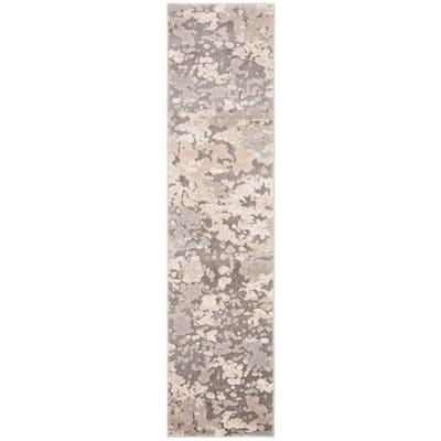 Spirit Taupe/Gray 2 ft. x 8 ft. Runner Rug
