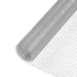 1/4 in. x 2 ft. x 25 ft. 23-Gauge Galvanized Steel Hardware Cloth