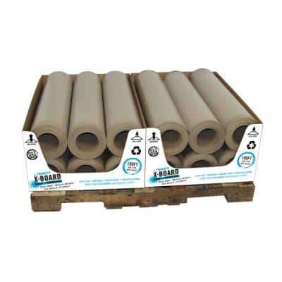 35 in. x 100 ft. X-Board Surface Protector Pallet, 12 rolls