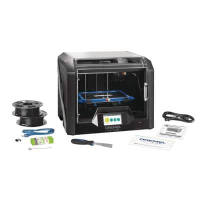 Digilab 3D45 Advanced Idea Builder 3D Printer with Built-In WiFi, Guided Leveling and RFID Filament Recognition