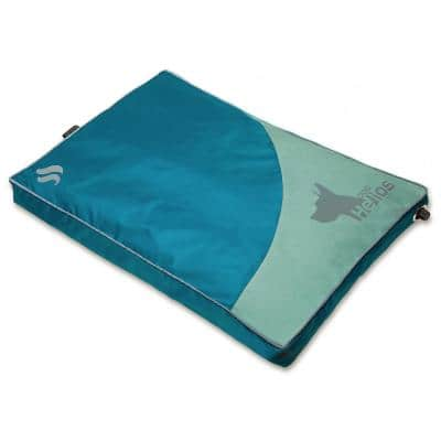 Small Blue Aero-Inflatable Outdoor Camping Travel Waterproof Pet Dog Mat Bed