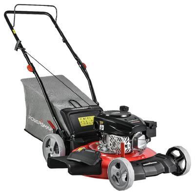 21 in. 3-in-1 170cc Gas Walk Behind Push Lawn Mower