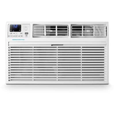 12,000 BTU 115-Volt SMART Through-the-Wall Air Conditioner with Remote, Wi-Fi, and Voice Control