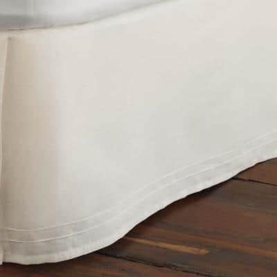 14.5 in. Solid Cotton Bed Skirt