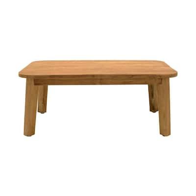 Bahamas Teak Rectangular Wood Outdoor Coffee Table