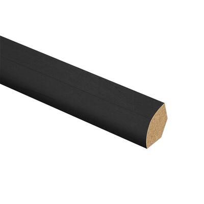 Pure Black Oak 1/2 in. T x 1-3/4 in. W x 72 in. L Laminate Multi-Purpose Reducer Molding