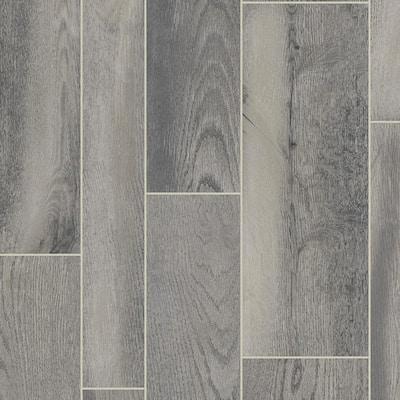 CushionStep Diamond 10 Technology Oak Wolf Run Residential Vinyl Sheet Flooring 12 ft. Wide x Cut to Length