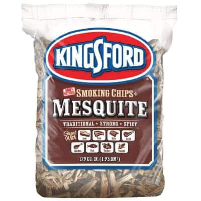 179 cu. in. BBQ Mesquite Wood Chips