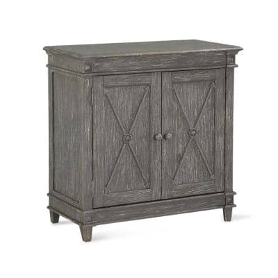 Sherwin Antique Gray Storage Cabinet