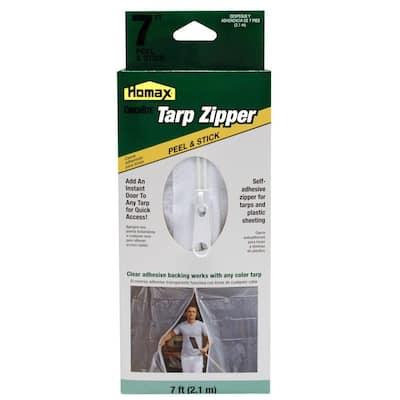 7 ft. Clear Tarp Zipper Door