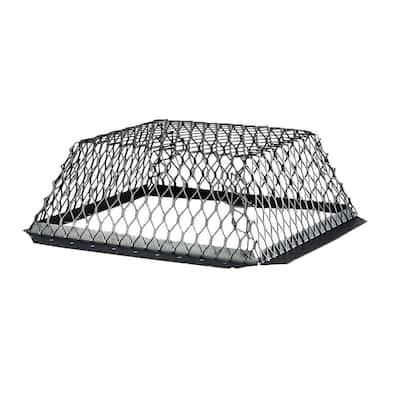 VentGuard 16 in. x 16 in. Stainless Steel Roof Wildlife Exclusion Screen in Black