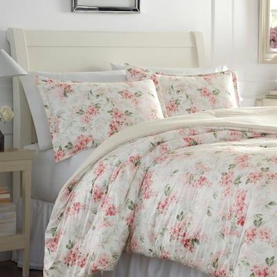 Wisteria Plush Comforter Set