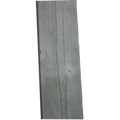 1 in. x 4 in. x 8 ft. Barn Wood Grey Pine Trim Board (6-Piece/Box)