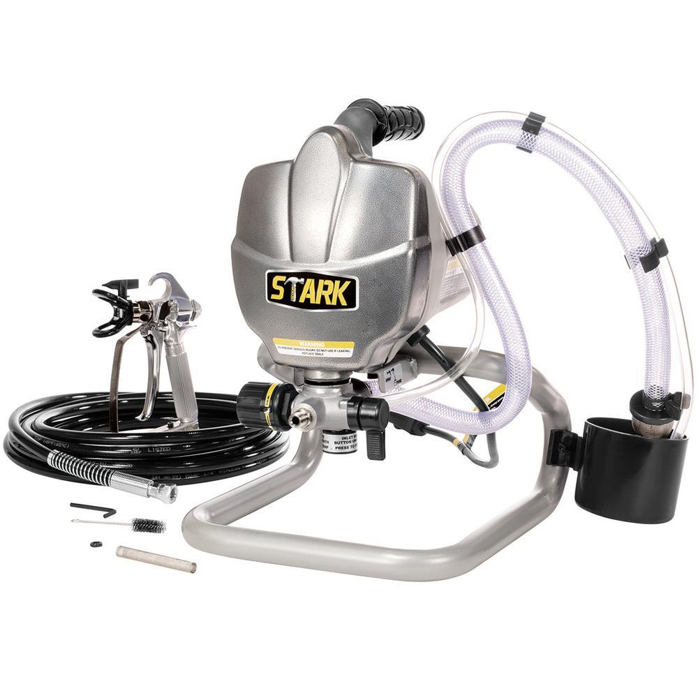 650-Watt 3300 psi High Pressure Airless Paint Spray Gun Adjustable Sprayer Machine