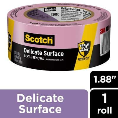 Scotch 1.88 in. x 60 yds. Delicate Surface Painter's Tape with Edge-Lock