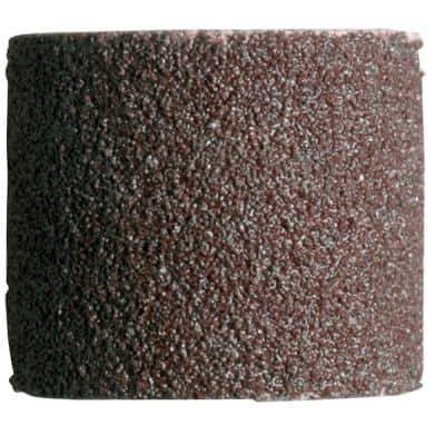 1/2 in. Rotary Tool 120-Grit Sanding Bands for Wood, Fiberglass, Metal, and Rubber (6-Pack)