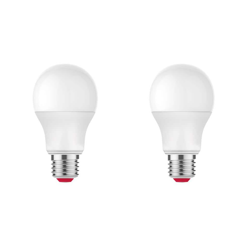 Ecosmart 60 Watt Equivalent A19 Dimmable Smart Led Light Bulb Tunable White 2 Pack A9a19a60wesdz02 The Home Depot