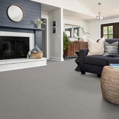 Aura - Color Network Pattern Gray Carpet