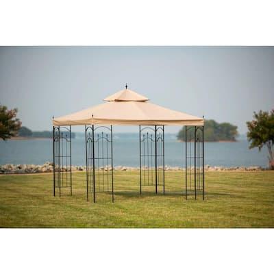 10 ft. x 10 ft. Outdoor Patio Arrow Gazebo