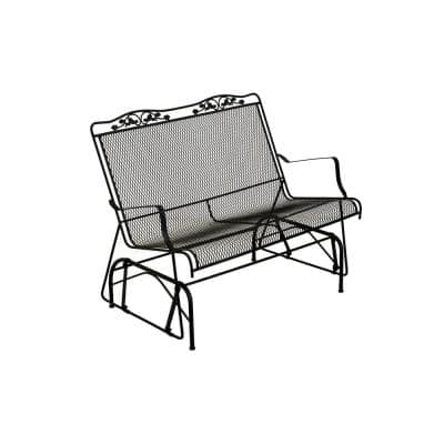Glenbrook Black Patio Glider