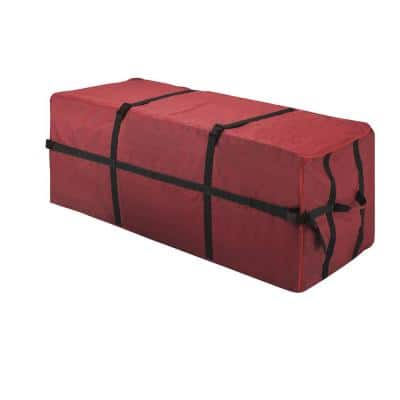 Deluxe Heavy-Duty Christmas Tree Canvas Storage Bag for 7.5 ft. Tree
