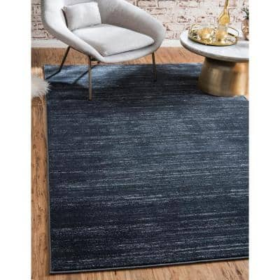 Uptown Collection by Jill Zarin Madison Avenue Navy Blue 8' 0 x 10' 0 Area Rug