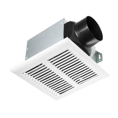 80 CFM Ceiling Mount Roomside Installation Heavy-Duty Bathroom Exhaust Fan