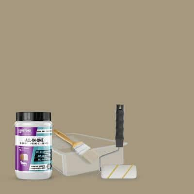 1 qt. Pebble Furniture Cabinets Countertops and More Multi-Surface All-in-One Interior/Exterior Refinishing Kit