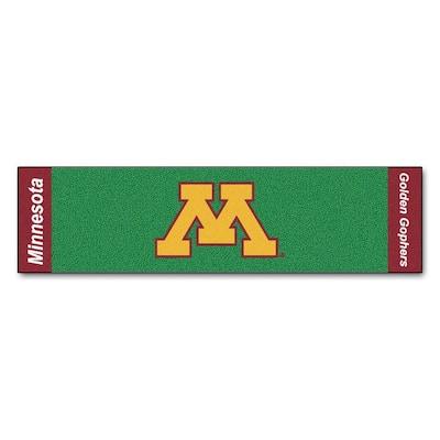 NCAA University of Minnesota 1 ft. 6 in. x 6 ft. Indoor 1-Hole Golf Practice Putting Green