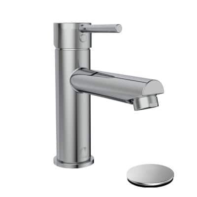 Belanger Single Hole Single-Handle Bathroom Faucet with Drain Assembly in Polished Chrome