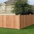 5/8 in. x 3-1/2 in. x 3-1/2 ft. Western Red Cedar Flat Top Fence Picket (13-Pack)