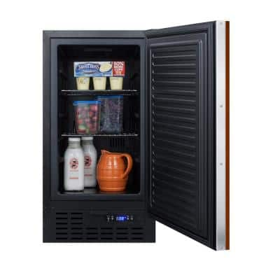 18 in. W 2.7 cu. ft. Freezerless Fridge with Panel-Ready Door Counter Depth