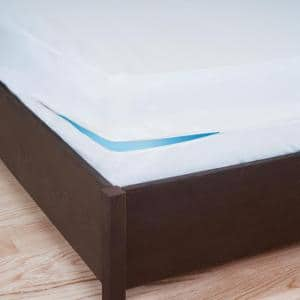 Bed Bug and Dust Mites Polyester Queen Box Spring Zip Cover