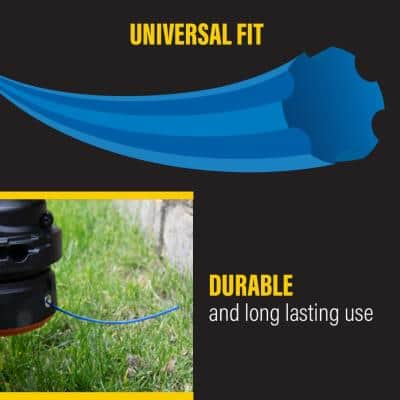 Universal Fit .065 in. x 275 ft. Gear Replacement Line for Corded and Cordless String Grass Trimmer/Lawn Edger