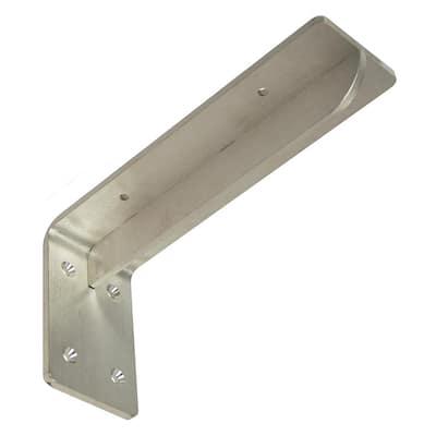 Georgian 10 in. x 5 in. Stainless Steel Bench Bracket