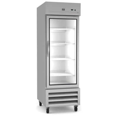23 Cu. Ft. Commercial Upright Reach-In Refrigerator Stainless steel