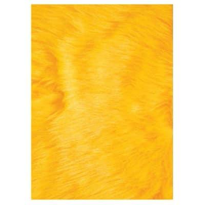 Flokati Yellow 3 ft. x 4 ft. Area Rug