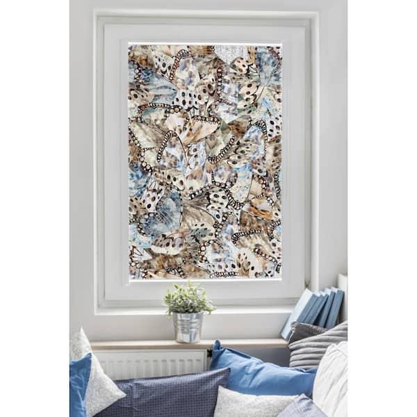 Artscape Butterflies 24 In X 36 In Window Film 01 0713 The Home Depot