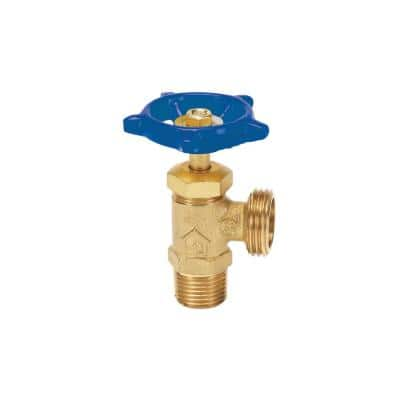 1/2 in. Brass Comp x MHT Boiler Drain