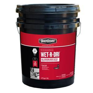 4.75 Gal. Wet-R-Dri All-Season Roof Patch