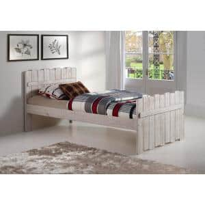 Rustic Sand Twin Tree House Bed